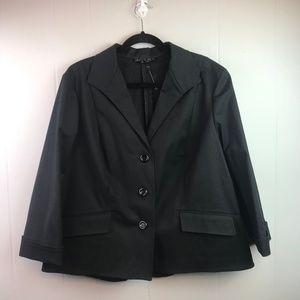 Lafayette 148 | Size 18. Black 3 Button Blazer